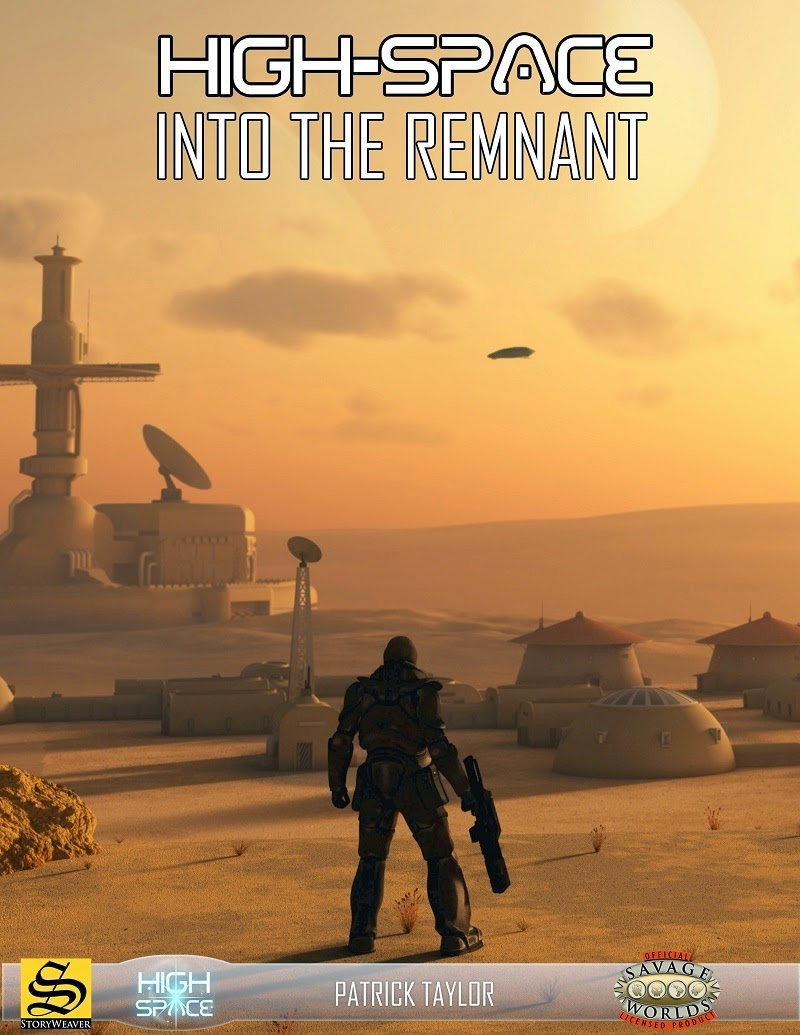 Cover for High-Space: Into the Remnant