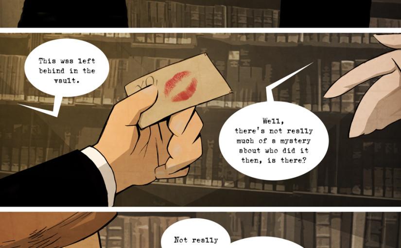 Sample Clockworks comic