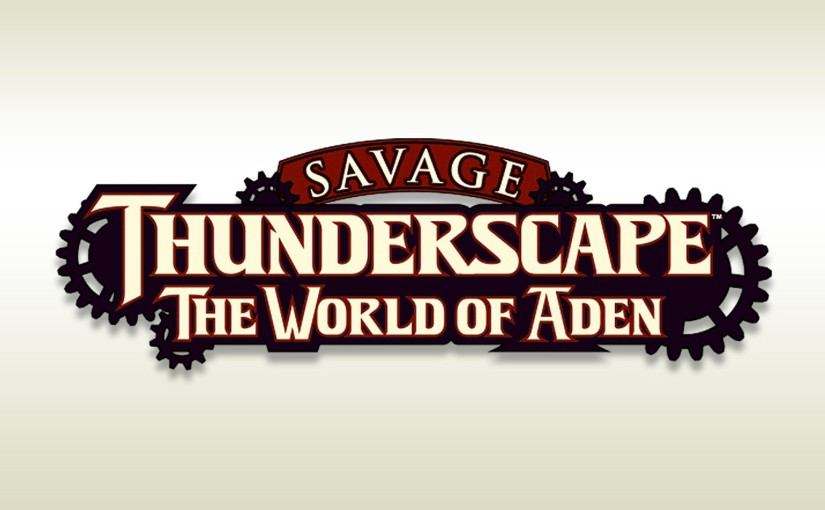 Logo for Savage Thunderscape
