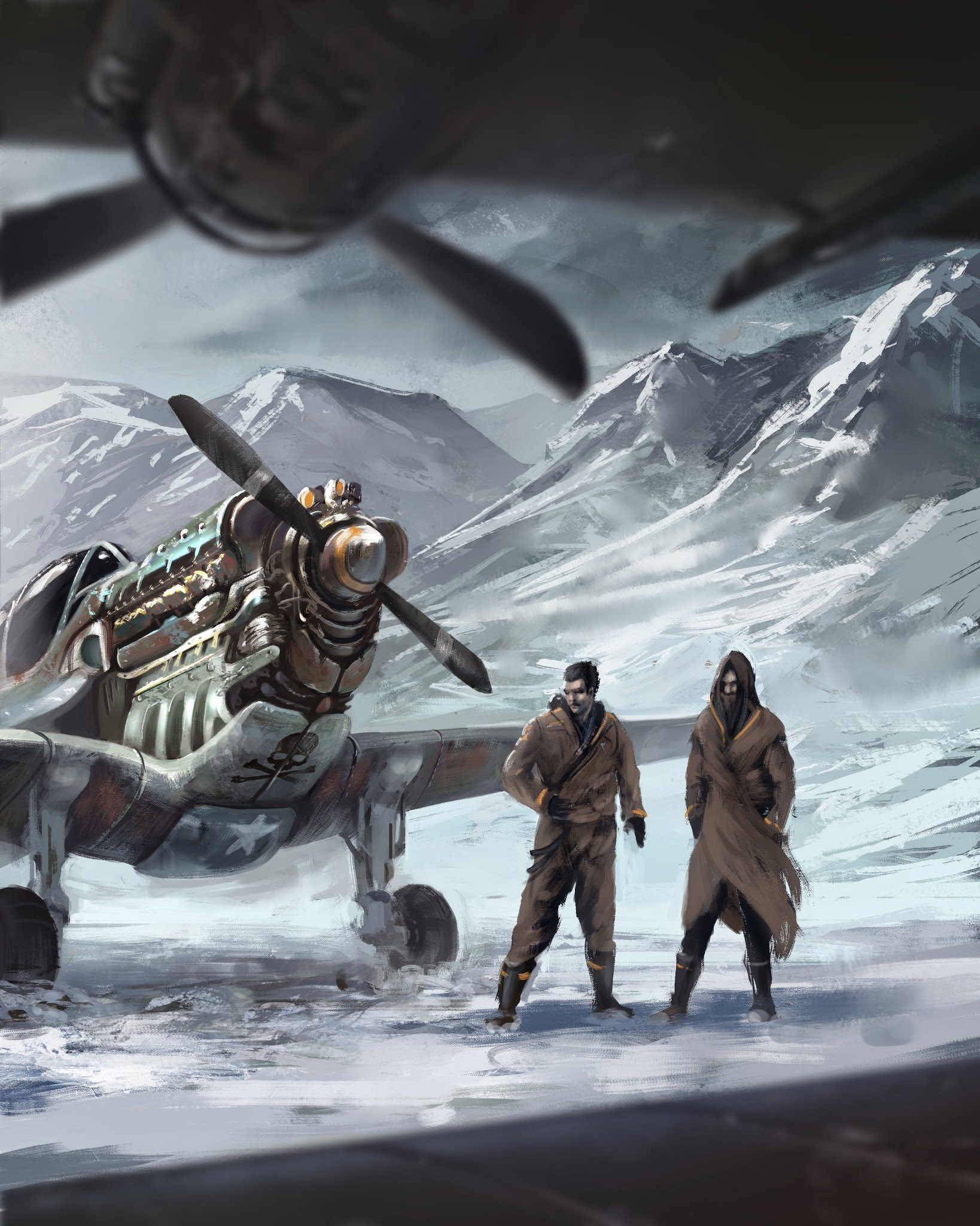 Cover art for Frozen Skies: Sky Pirates