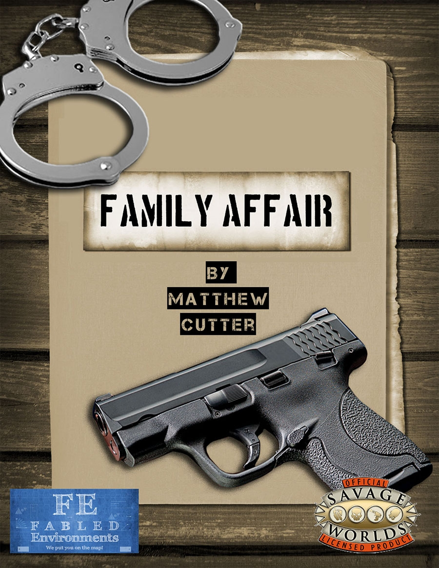 Cover for Family Affair by Fabled Environments