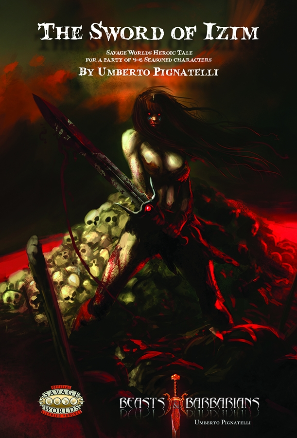 Cover of Beasts & Barbarians: Sword of Izim