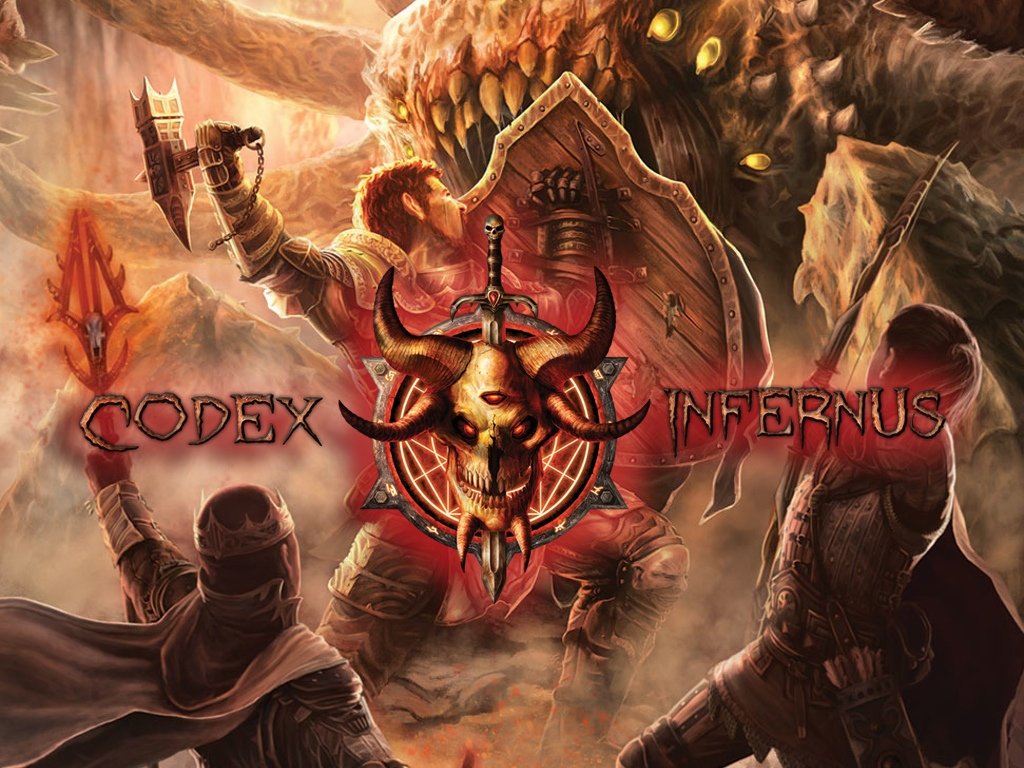 Cover and promo art for Codex Infernus