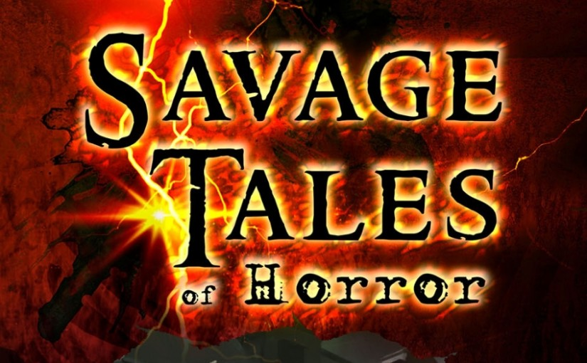 Logo for Savage Tales of Horror