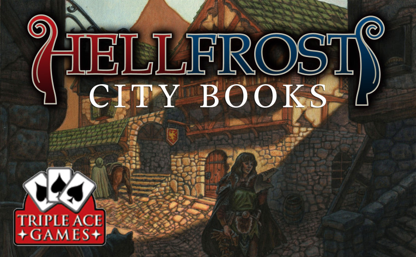 Teaser cover for Hellfrost City Books