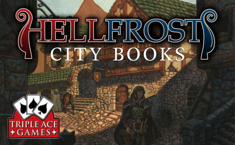Teaser cover for Hellfrost City Books
