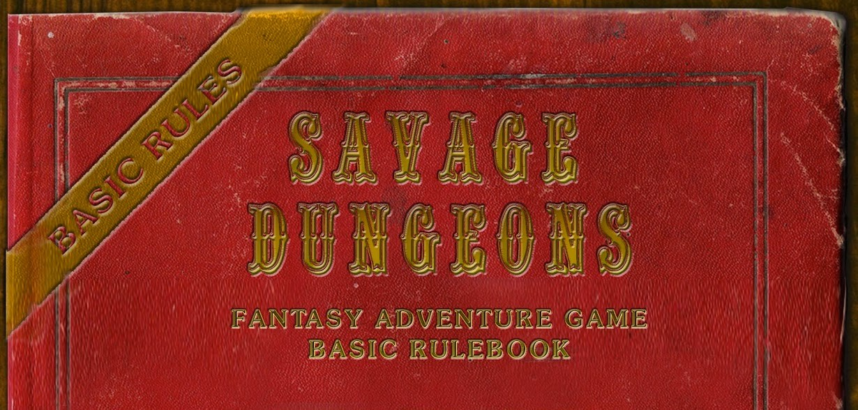Cover for Savage Dungeons