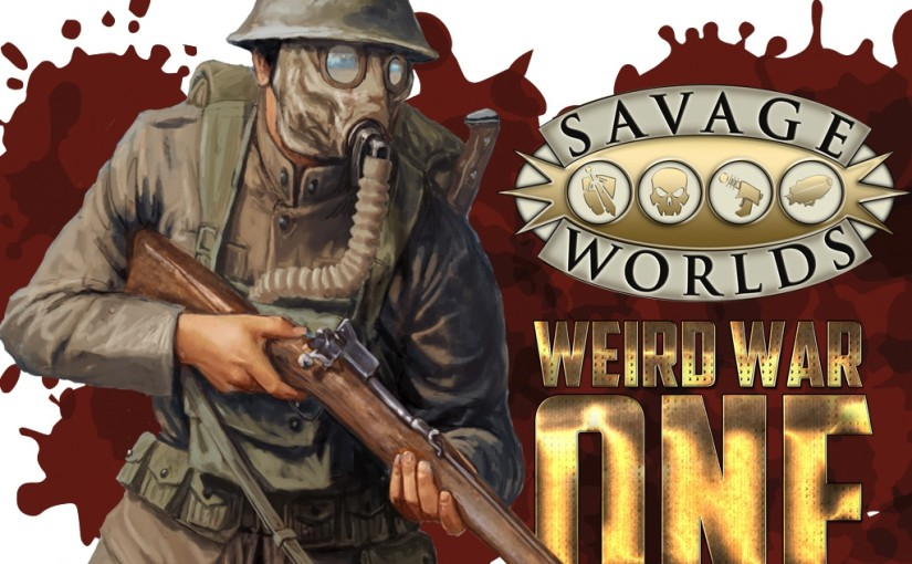 Weird War One Kickstarter cover image