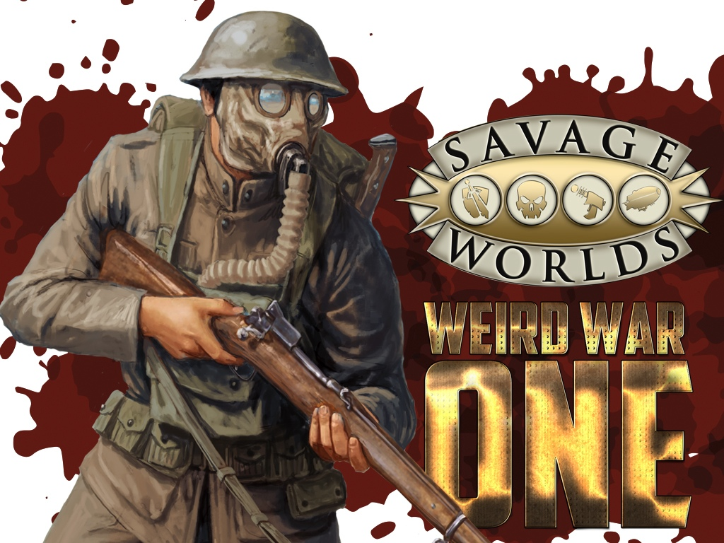 Weird War One Kickstarter cover image