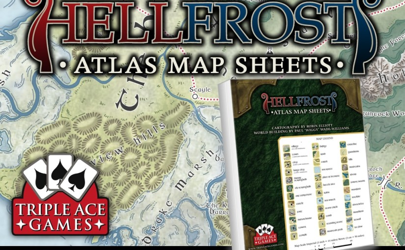 Kickstarter cover image for Hellfrost Atlas Map Sheets