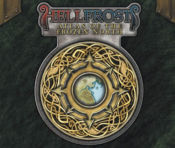 Cover of Hellfrost: Atlas of the Frozen North