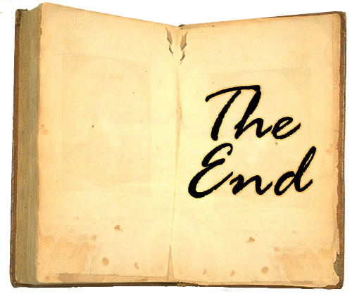 The end of a book